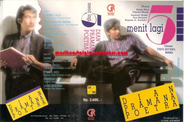 Dian Pramana Poetra_Album 3  Menit Lagi_edited