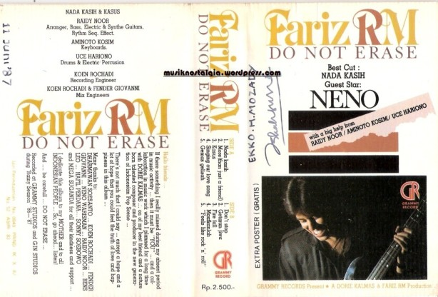 Fariz RM_Album Do Not Erase Neno_edited