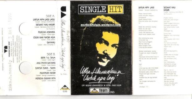 Utha Likumahuwa_Album Single Hit Untuk Apa Lagi_edited